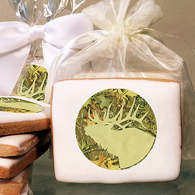 Mossy Oak Obsession Silhouette Photo Cookies