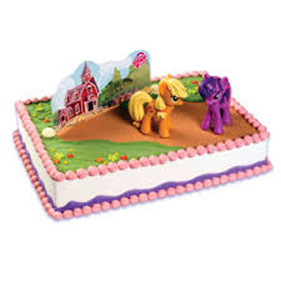 My Little Pony Licensed Toy Cake