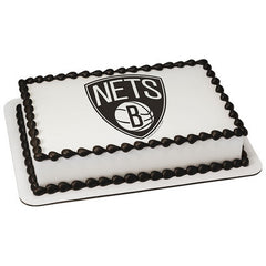 NBA Brooklyn Nets Photo Cake