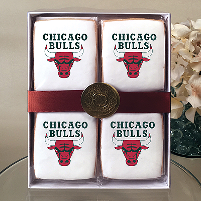 NBA Chicago Bulls Cookie Gift Box