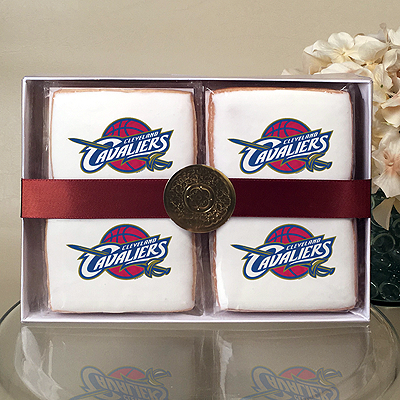NBA Cleveland Cavaliers Cookie Gift Box