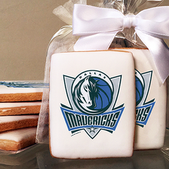 NBA Dallas Mavericks Photo Cookies