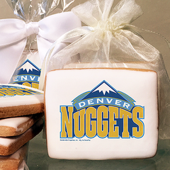 NBA Denver Nuggets Photo Cookies