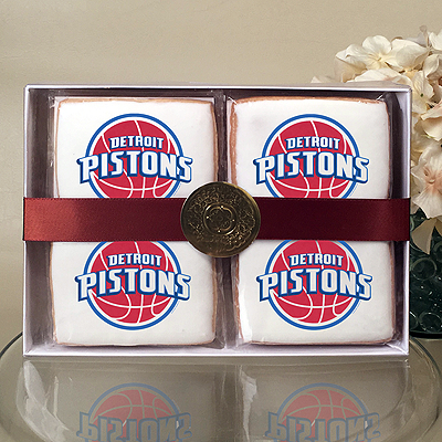 NBA Detroit Pistons Cookie Gift Box