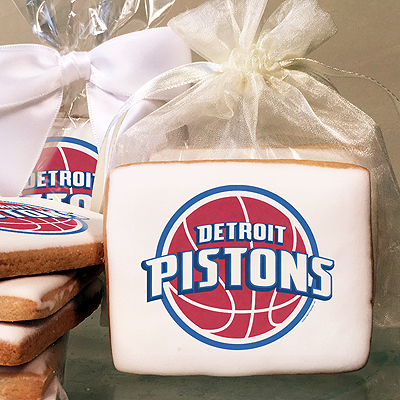 NBA Detroit Pistons Photo Cookies