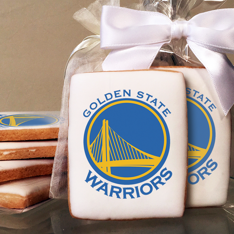 NBA Golden State Warriors Cookies