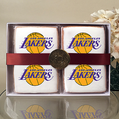 NBA Los Angeles Lakers Cookie Gift Box