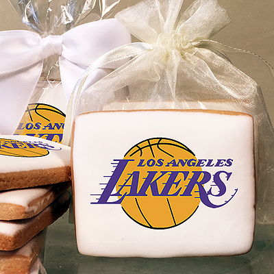 NBA Los Angeles Lakers Photo Cookies