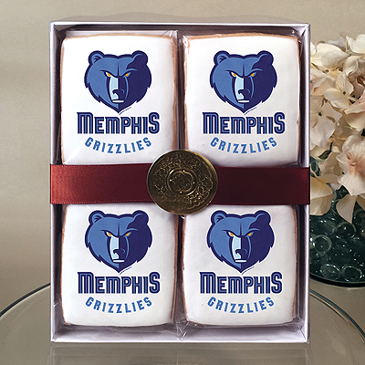 NBA Memphis Grizzlies Cookie Gift Box