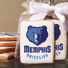 NBA Memphis Grizzlies Photo Cookies