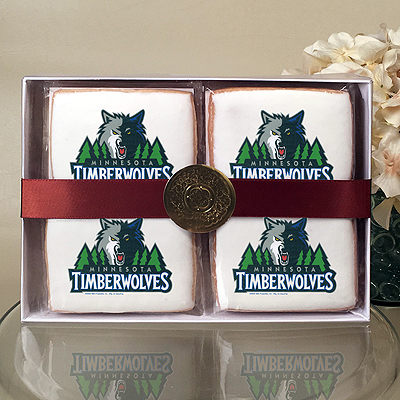 NBA Minnesota Timberwolves Cookie Gift Box