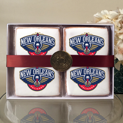 NBA New Orleans Pelicans Cookie Gift Box
