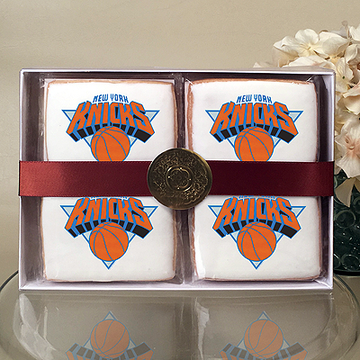 NBA New York Knicks Cookie Gift Box