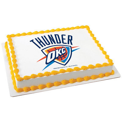NBA Oklahoma City Thunder Photo Cake