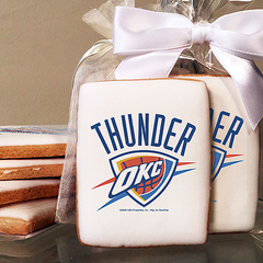 NBA Oklahoma City Thunder Photo Cookies