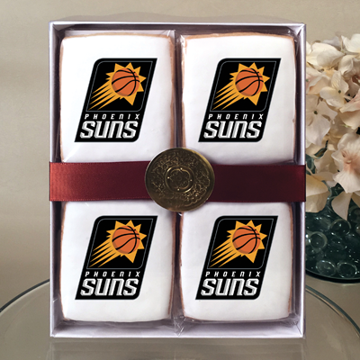 NBA Phoenix Suns Cookie Gift Box