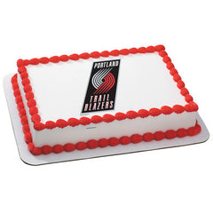 NBA Portland Trailblazers Photo Cake