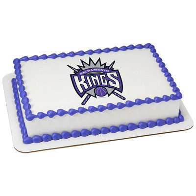 NBA Sacramento Kings Photo Cake