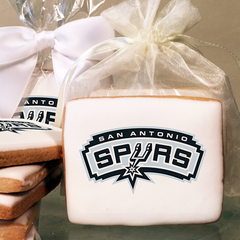 NBA San Antonio Spurs Photo Cookies