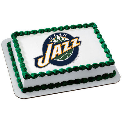 NBA Utah Jazz Photo Cake