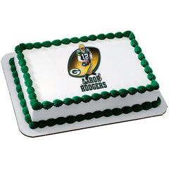NFL Players Aaron Rodgers Photo Cake