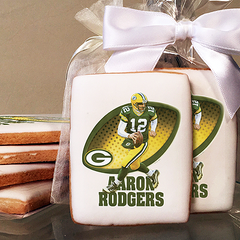 NFL Players Aaron Rodgers Photo Cookies