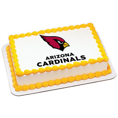 NFL Arizona Cardinals Photo Cake