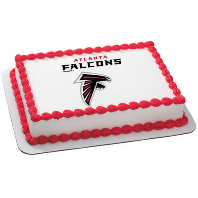 NFL Atlanta Falcons Photo Cake