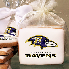 NFL Baltimore Ravens Photo Cookies