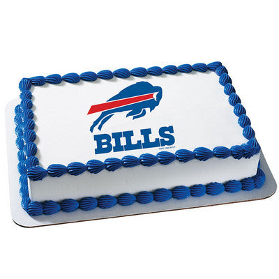 NFL Buffalo Bills Photo Cake