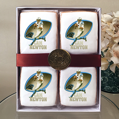 NFL Players Cam Newton Cookie Gift Box