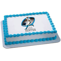 NFL Players Cam Newton Photo Cake