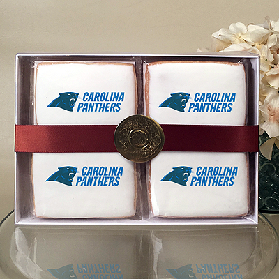 NFL Carolina Panthers Cookie Gift Box