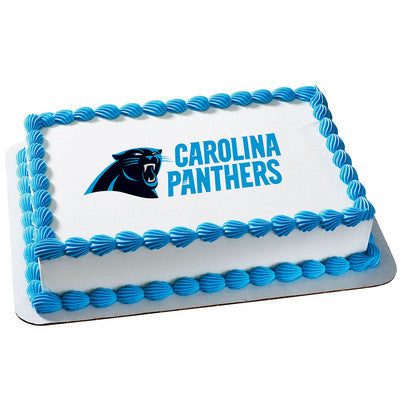 NFL Carolina Panthers Photo Cake