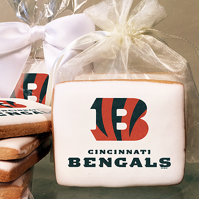 NFL Cincinnati Bengals Photo Cookies
