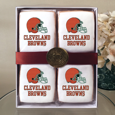 NFL Cleveland Browns Cookie Gift Box