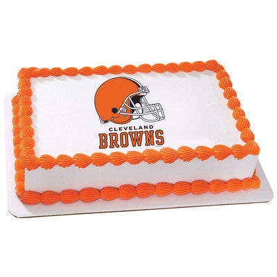 NFL Cleveland Browns Photo Cake
