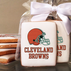 NFL Cleveland Browns Photo Cookies