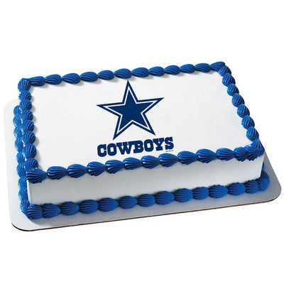NFL Dallas Cowboys Photo Cake
