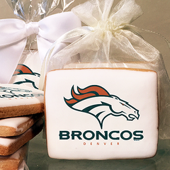 NFL Denver Broncos Photo Cookies