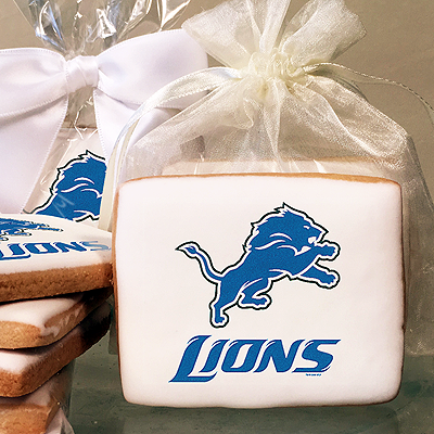 NFL Detroit Lions Photo Cookies