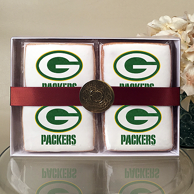 NFL Green Bay Packers Cookie Gift Box