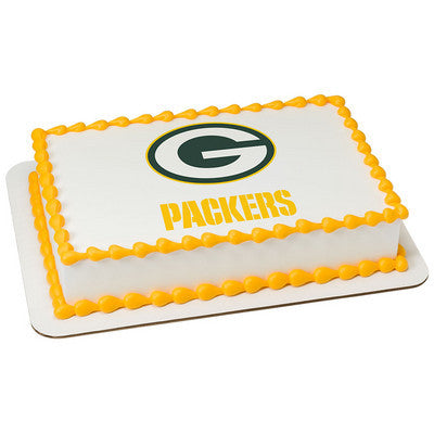 NFL Green Bay Packers Photo Cake
