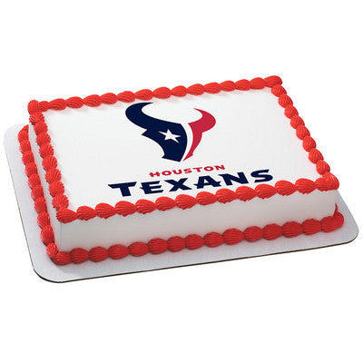 NFL Houston Texans Photo Cake
