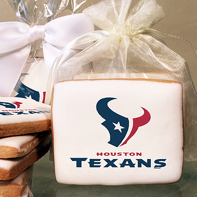 NFL Houston Texans Photo Cookies