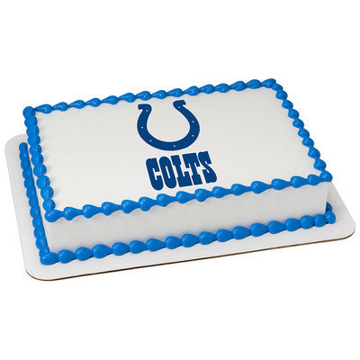 NFL Indianapolis Colts Photo Cake