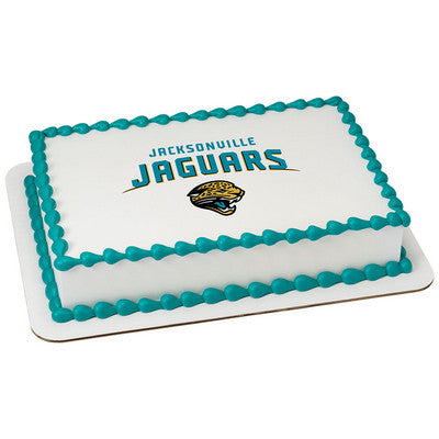 NFL Jacksonville Jaguars Photo Cake