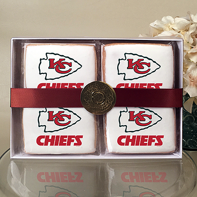 NFL Kansas City Chiefs Cookie Gift Box