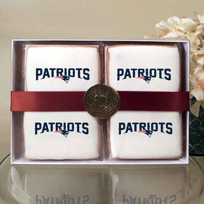 NFL New England Patriots Cookie Gift Box