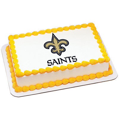 NFL New Orleans Saints Photo Cake